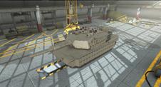 M1A2 Abrams Tusk II