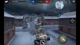 Tanktastic зимний бой КВ-1