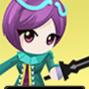 Aya the Lightning Violet 1