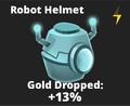 Robot Helmet Icon