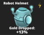 Robot Helmet Icon