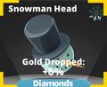 Snowman Head Icon