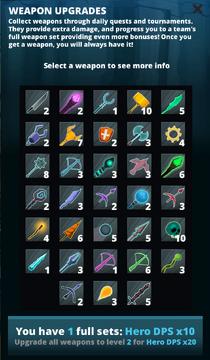 Full Weapon Set