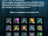 Weapon Upgrade System