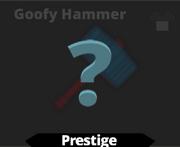 Goofy Hammer sword