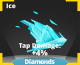 Ice slash effect