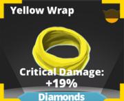 Yellow Wrap