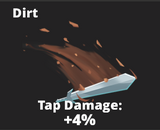 Dirt slash effect