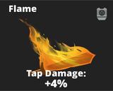 Flame slash effect