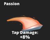 Passion slash effect