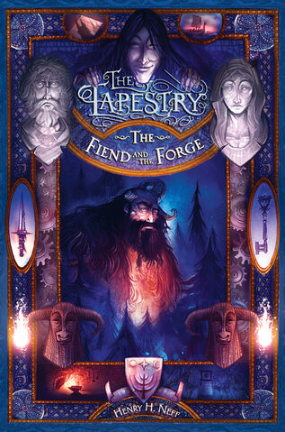 File:Cover for the Fiend and the Forge.jpg