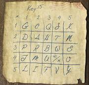 Tapjoint key fifteen