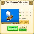 Cpt. Phillip's Frigate Tier 2