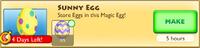 Sunny Egg Crafting