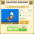 Crafted Cruiser Tier 1