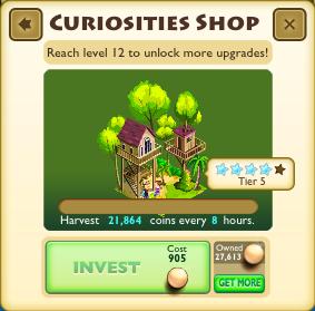 Curiosities Shop Faceplate