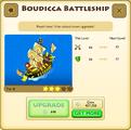 Boudicca Battleship Tier 8