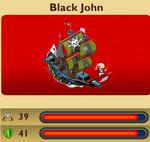 Pirate Black John
