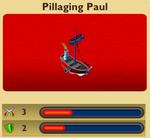 Pirate Pillaging Paul