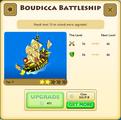 Boudicca Battleship Tier 7