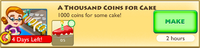 A Thousand Coins for Cake Crafting