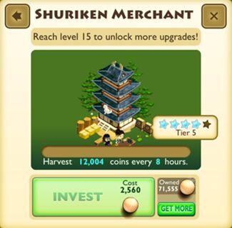 Shuriken Merchant Faceplate