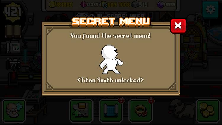 Titan Smith Unlock