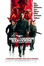 Inglourious Basterds theatrical poster