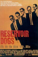 Reservoir Dogs theatrical poster