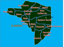 Map of Ilandia