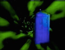 Bright Blue TARDIS