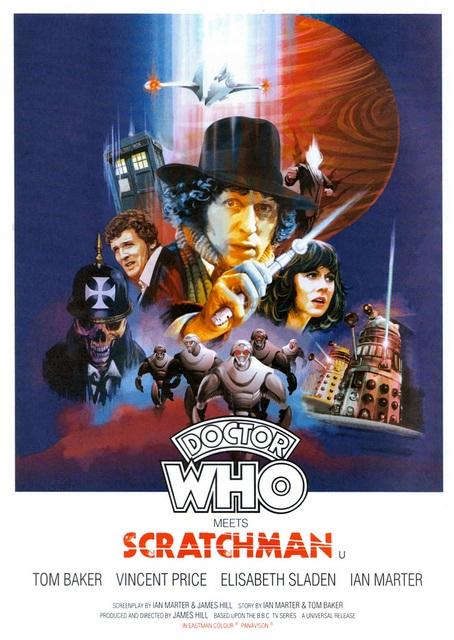 Resultado de imagen de doctor who scratchman