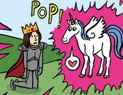 10DY1 15 A Horse a Horse King Unicorn