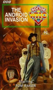 The Android Invasion VHS UK cover