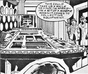 Final Genesis TARDIS control room grey