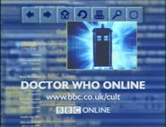Doctor Who Website Advert 2000