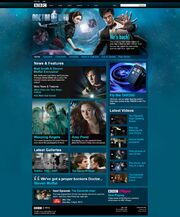 Series 5 Website Home Page on 27 March 2010