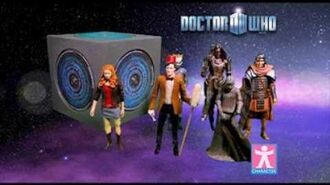 Dr Who Pandorica Action Figures