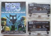 The Spectre of Lanyon Moor cassette cover with cassettes