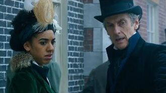 Walking on the River Thames Thin Ice Doctor Who BBC