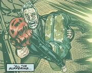 War Doctor holding Cinder