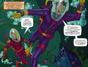 Aquarius condition diving suit Heather & Doctor