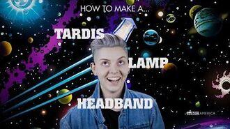 How to Make a TARDIS Lamp Headband Wholloween Doctor Who