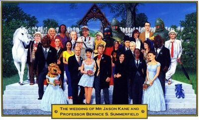 The Wedding of Jason Kane and Bernice Summerfield