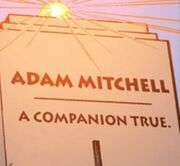 Adam Mitchell's grave