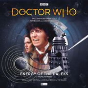 Energy of the Daleks vinyl cover