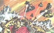 Daleks attack Jupiter moons