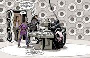 Master's TARDIS chronal tumour
