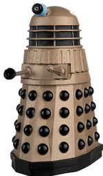 DWFC Gold Dalek Figure