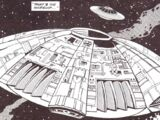 Cyberman flying saucer